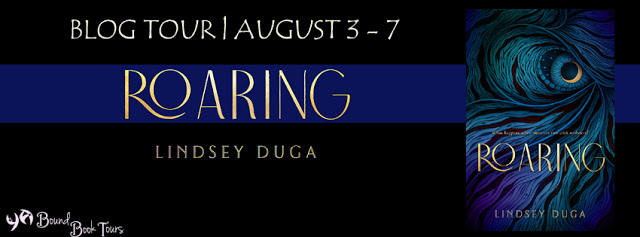 Roaring tour banner
